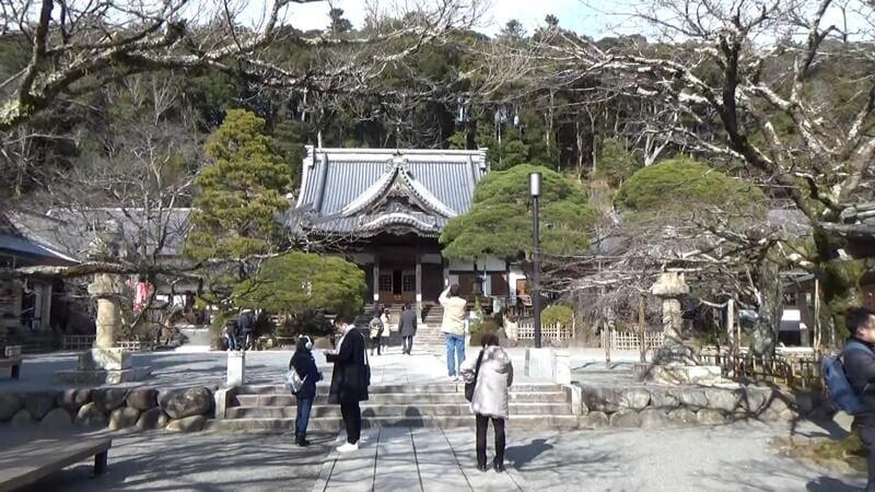 修禅寺境内