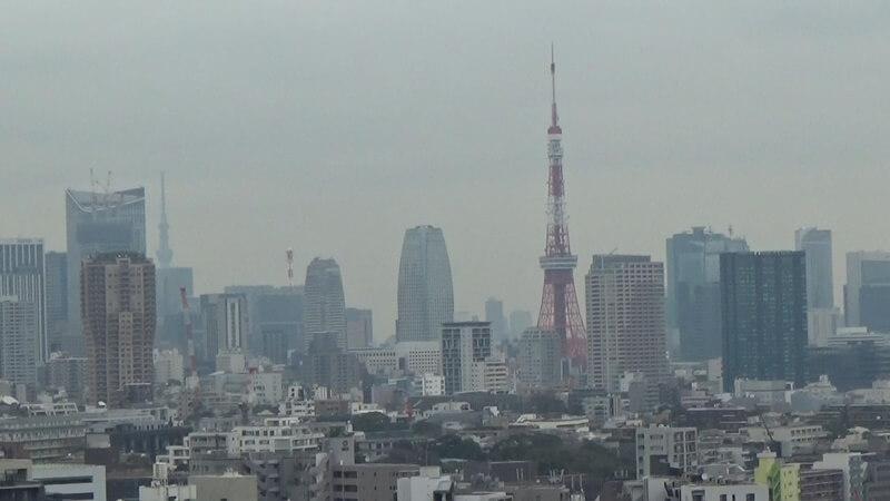 客室から東京タワー1