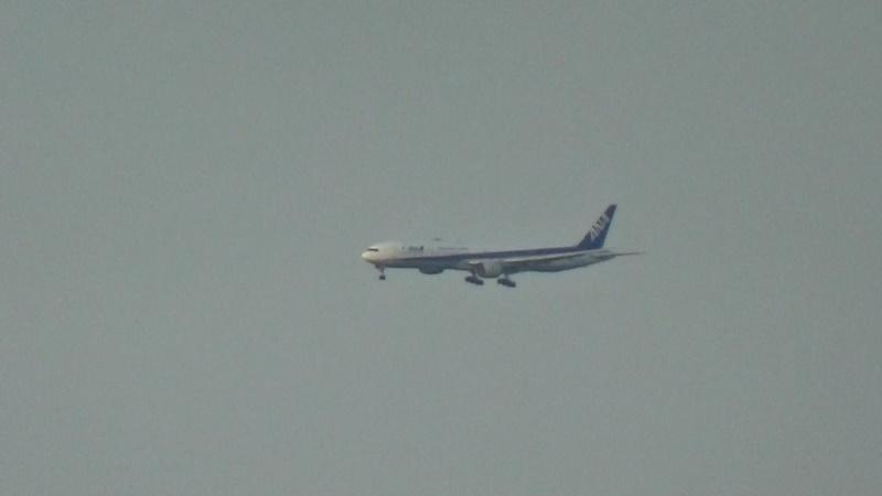 客室から飛行機