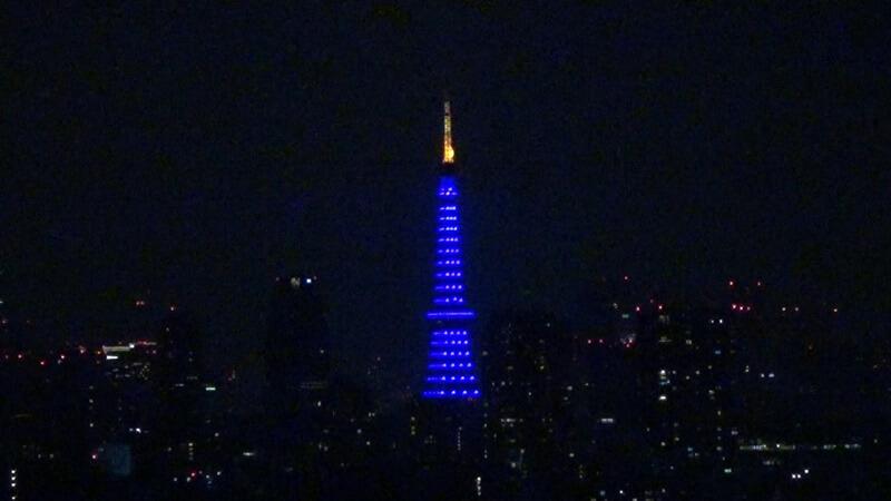 東京タワー青