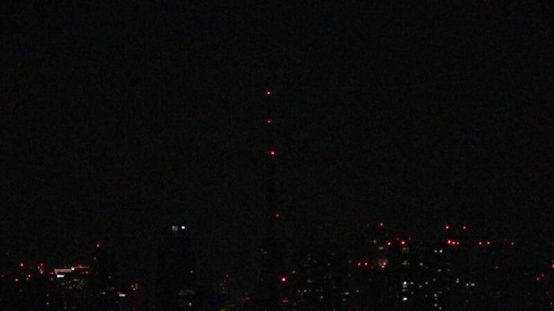 真っ暗東京タワー