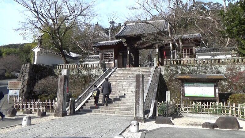 福地山修禅寺入口