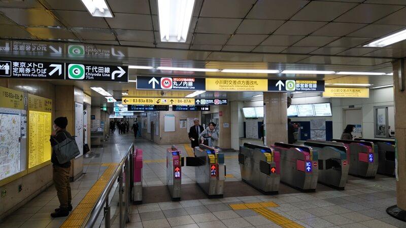 千代田線から都営新宿線3
