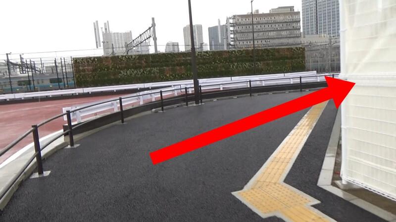 泉岳寺から高輪ゲートウェイ6