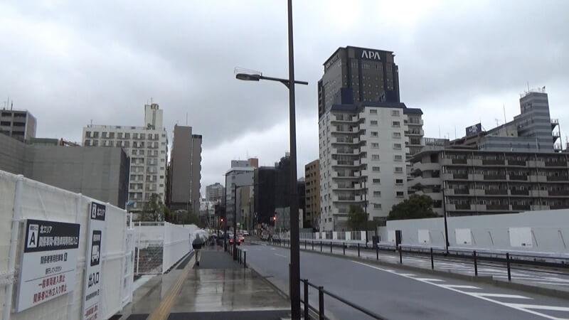 高輪ゲートウェイから泉岳寺7