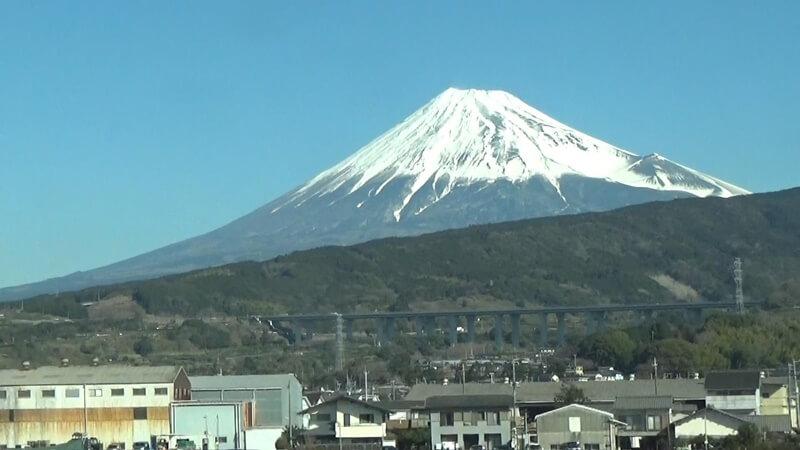 吉原付近富士山