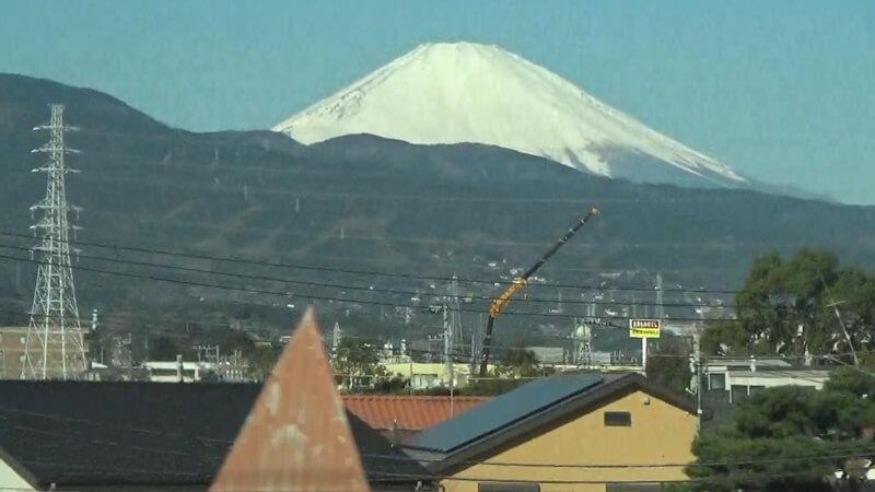 小田原付近富士山