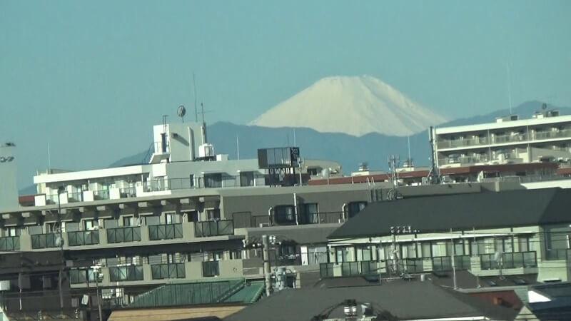 新横浜付近富士山