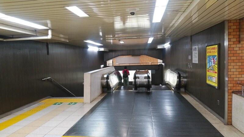 丸ノ内線から都営新宿線9