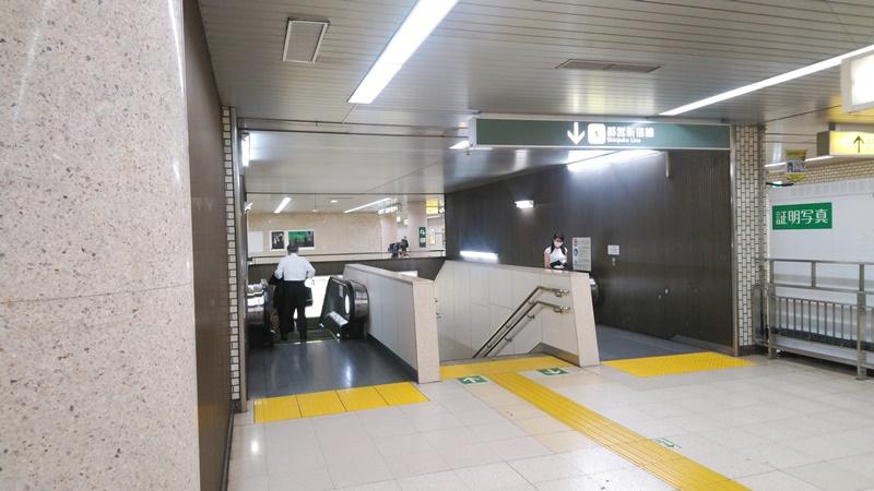 千代田線から都営新宿線9