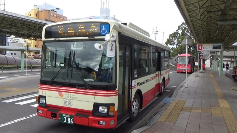 皆生温泉行バス