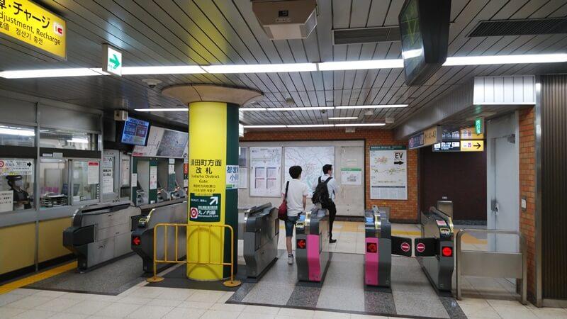 都営新宿線から丸ノ内線5