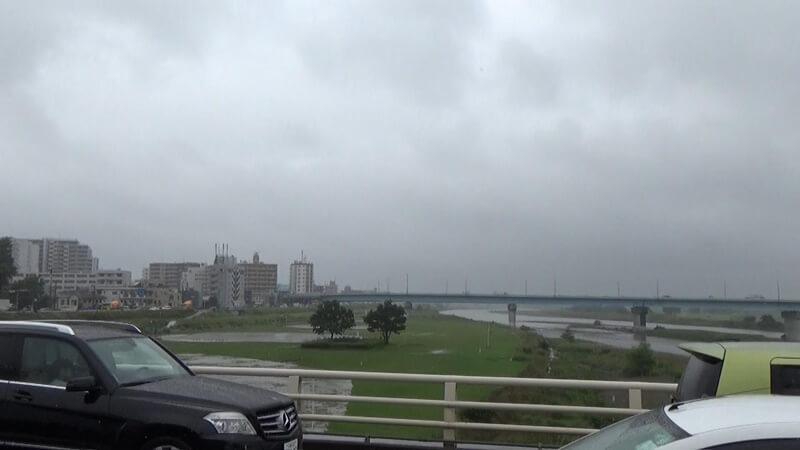 二子橋神奈川県側河川敷