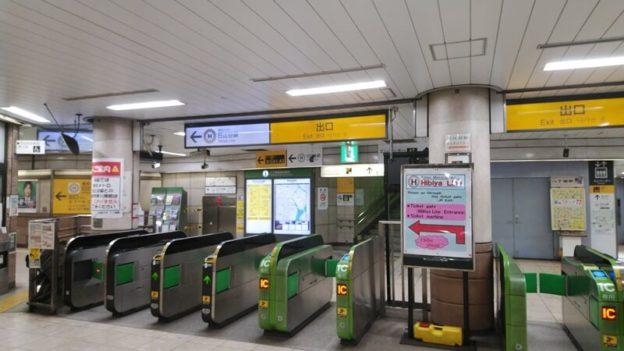 京葉線から日比谷線2