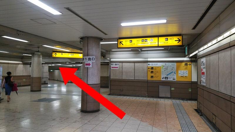 京葉線から日比谷線3