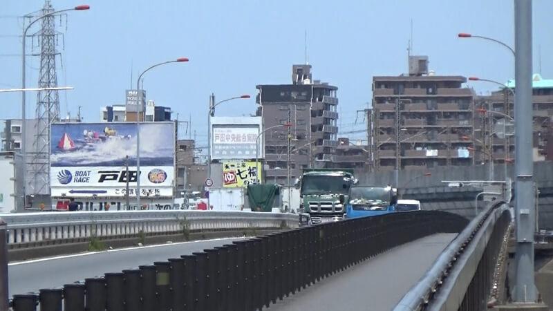 向こうは埼玉県