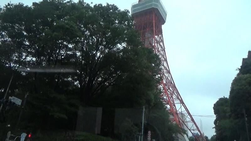 東京タワー前