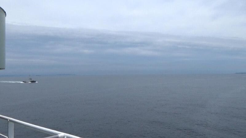 東京湾の出口