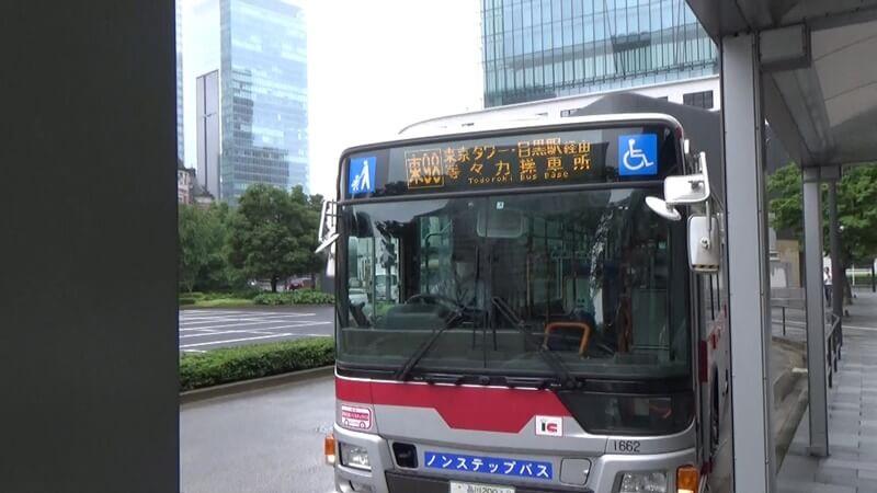 東京駅バス乗車