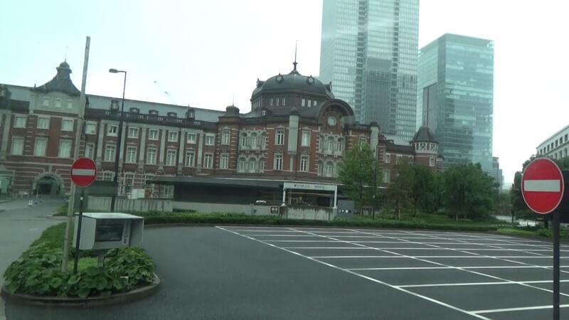 東京駅バス出発