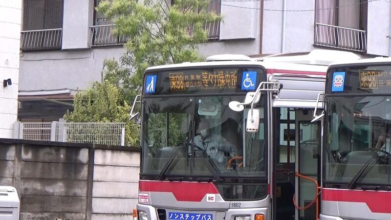 等々力操車所バス