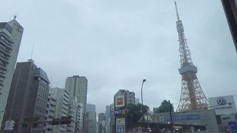 赤羽橋から東京タワー